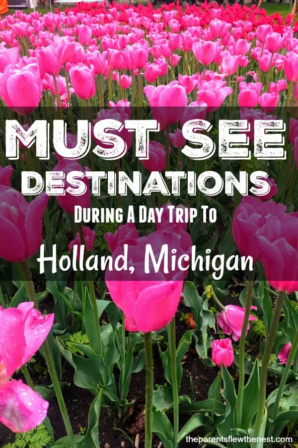 Interested in a day trip to Holland, Michigan? Here are the must see spots. #travel #traveltips #michigan