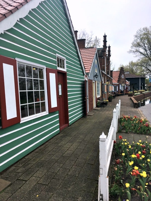 Dutch village found on Windmill Island in Holland, Michigan.