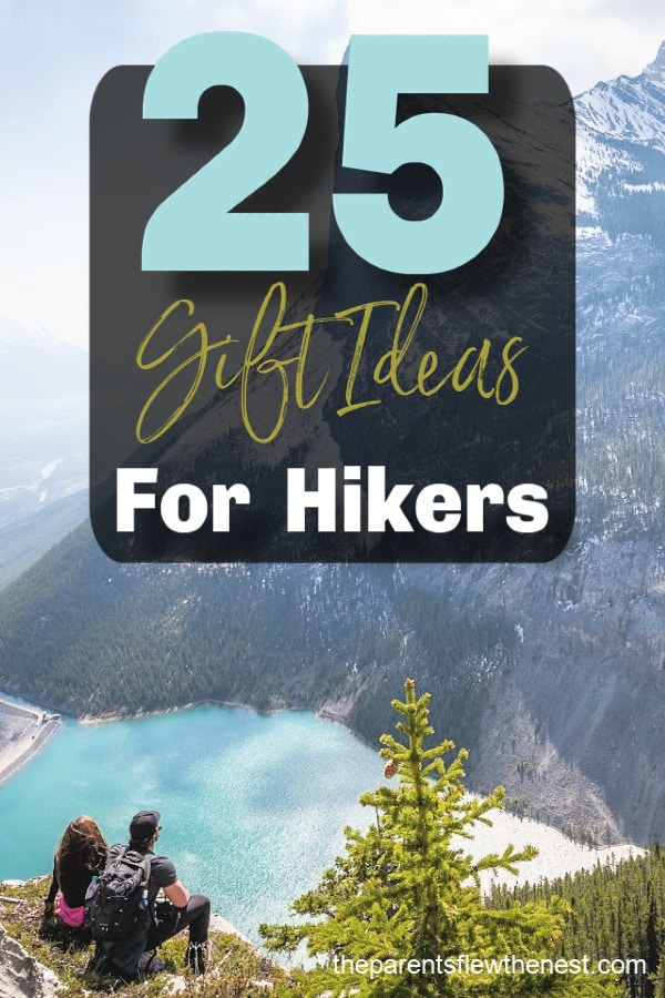 Need a gift for a hiker in your life? Here are 25 gifts ideas for hikers. #hiking #hikinggear #hikingtips