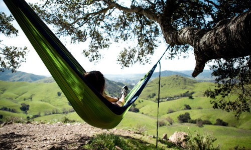 A portable hammock makes a great gift for a hiker.