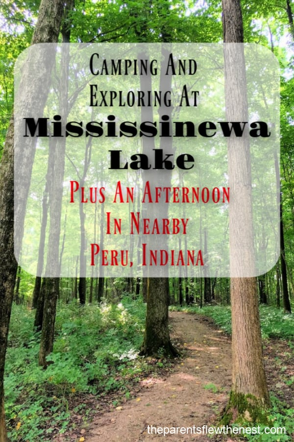Camping and exploring at Mississinewa Lake State Park, Indiana. #campingholiday #hikingtrails #exploreindiana