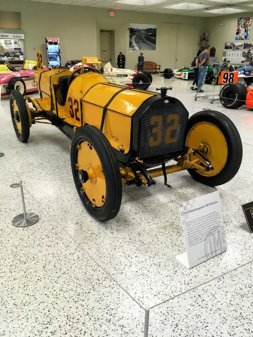 See the advancement of Indy race cars over the years when you explore the Indianapolis Motor Speedway Museum.