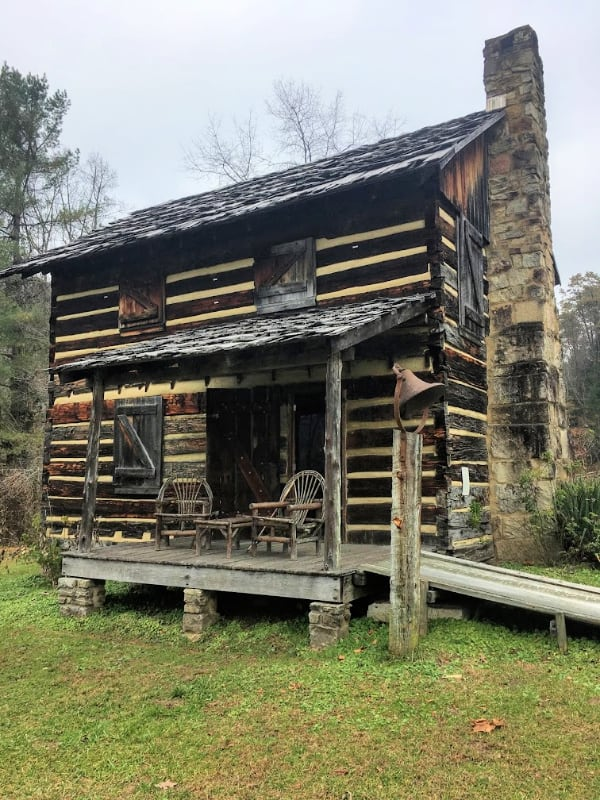 The Gladie Cabin found in the Red River Gorge Area of The Daniel Boone National Forest.