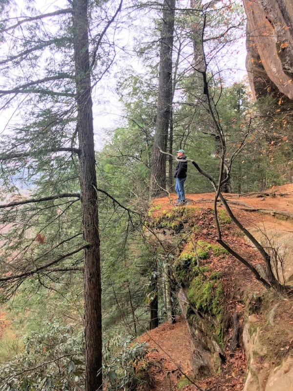 Princess arch trail--Red River Gorge Area KY